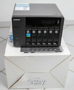 QNAP TS-670 Pro / Ultra / Ultimate (i7 & 16 GB Ram) mit 20TB WD RED Festplatten