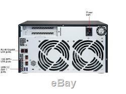 QNAP TS-832X-2G-US High-Performance 8-Bay 64-bit NAS Built-in 2 x 10 GbE (SFP+)