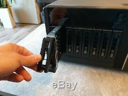 QNAP TS-EC880 Pro NAS 32GB ECC RAM 2x 128GB Samsung SSD Cache
