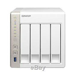 Qnap 4-Bay Personal Cloud NAS Intel 2.41GHz Dual Core CPU TS-451-US