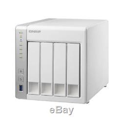 Qnap 4-bay Personal Cloud NAS with DLNA Mobile Apps and AirPlay Support TS-431+-US