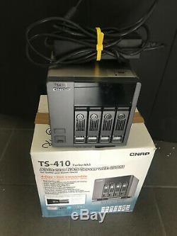 Qnap TS-410 NAS-System ohne Platten (4-Bay, iSCSI, SATA II, USB, eSATA, Gigabit)