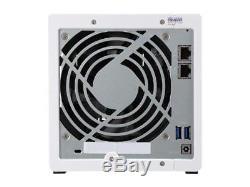 Qnap TS-431P-US 4-Bay Personal Cloud NAS, ARM Cortex A15 1.7GHzDual Core, 1GB RA