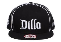(RARE) J Dilla JAY DEE x NEW ERA Cap/ NAS MF DOOM wu tang clan 2pac eminem music