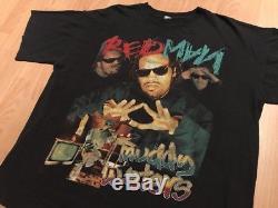 REDMAN MUDDY WATER XL rap vtg bootleg Shirt 2pac wu tang method man nas