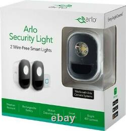 SEALED Arlo Indoor/Outdoor Smart Home Security Lights ALS1102-100NAS