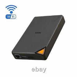 SSK 2TB Portable NAS External Wireless Hard Drive with Own Wi-Fi Hotspot Pers