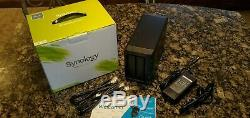 SYNOLOGY DS214+ NAS WITH 10TB STORAGE 2 x 5TB WD RED NAS DRIVES