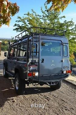 Safety Devices Style Land Rover Nas Defender 110 Roof Rack Basket