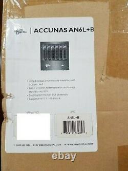 Sans Digital AccuNAS 6-Bay iSCSI NAS Enclosure AN6L+B Black Diskless
