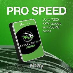 Seagate BarraCuda Pro 12TB SATA 6Gb/s 7200RPM 3.5 Internal HDD (ST12000DM001)