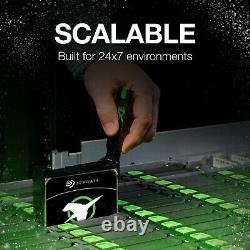 Seagate Exos X16 14TB SATA 6Gb/s 7200RPM 3.5 Enterprise SED HDD (ST14000NM000G)