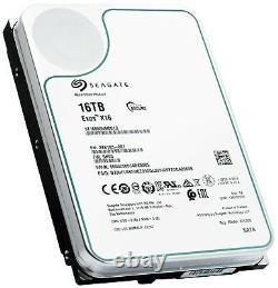Seagate Exos X16 16TB SATA 6Gb/s 3.5 Enterprise HDD ST16000NM001G