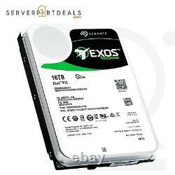 Seagate Exos X16 HDD 16TB 7.2K RPM SATA 6Gb/s 3.5 Hard Drive (ST16000NM001G)