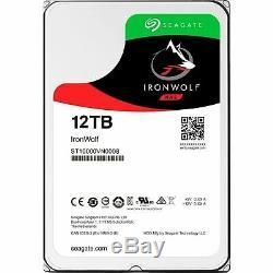 Seagate IronWolf 12TB 3.5 SATA Internal NAS Hard Drive HDD 7200RPM 256MB NEW