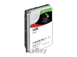 Seagate IronWolf 14TB NAS Hard Drive 7200 RPM 256MB Cache SATA 6.0Gb/s 3.5 Inte