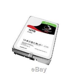 Seagate IronWolf NAS ST10000VN0004 10TB 7200RPM SATA 6.0 GB/s 256MB Hard Drive