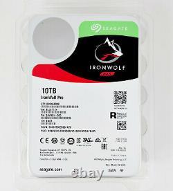Seagate IronWolf Pro ST10000NE0008 10TB 3.5 7200RPM 256MB NAS HDD $Promo1020