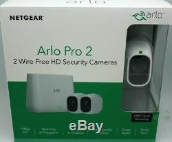 Sealed Arlo Pro 2 Wireless Camera System 1080p HD Wifi Security Indoor/Outdoor