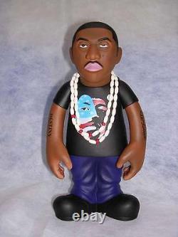 Set of 2 Nas Action Figures Run DMC Notorious BIG Funko MF DOOM Wu Tang Tupac
