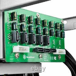 Silverstone CS280B Premium 8 Bay 2.5inch Small Form Factor (SFF) NAS Case