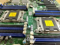Supermicro X9DRH-7F Rev 1.02 v2 CPU TESTED IT mode LSI SAS2308 firmware for ZFS