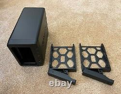 Synology 2 Bay NAS DiskStation Diskless DS718+ 8GB RAM plus extras