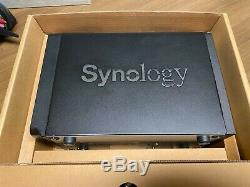 Synology 2 Bay NAS DiskStation Diskless (DS718+) Used Quad core CPU with AES-NI
