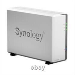 Synology DS120J Network Attached Storge 1 bay Entry Level NAS Diskless Retail
