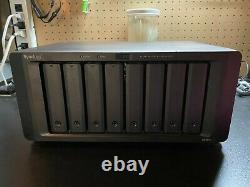 Synology DS1817+, 8 X 8TB HDD's, 8GB RAM, Dual 10Gbe Card Lightly Used