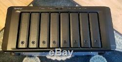 Synology DS2015xs 10gbe NAS with (8) 1TB Hard Drives