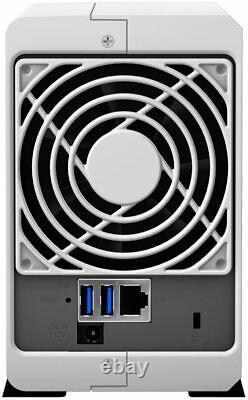 Synology DS216J 2 Bay 6TB 6 TB 2x3TB 7200rpm Gehäuse NAS-Server Wireless Storage