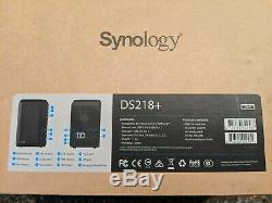 Synology DS218+ 2 bay NAS (No HDD included) Dual Core CPU (2.0GHz) 2GB RAM