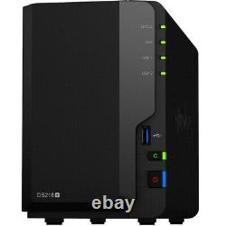 Synology DS218+ DiskStation Assembled with 4GB RAM & 8TB of Western Digital Drives