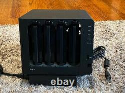 Synology DS413 NAS with 3x 4TB Seagate Ironwolf Hard Disks