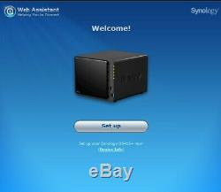 Synology DS415+ Intel Quad Core 8GB 4-bay NAS 18TB Western Digital Red included