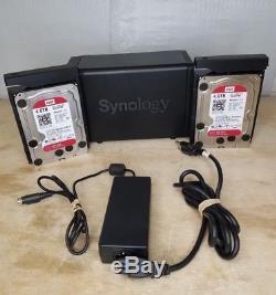 Synology Disc Station DS715 3.5 2xSlot NAS-8TB Storage-2GB RAM-RAID eSATA USB