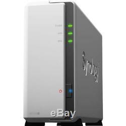 Synology DiskStation DS120j 1 Bay NAS, Dual Core 800 MHz, RAID Basic, Diskless