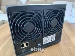 Synology DiskStation DS414 4 Bay NAS Speicherserver bi zu 16TB USB Vorn U hinten