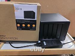Synology DiskStation DS418 4-Bay NAS Enclosure Diskless PC819566