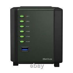 Synology DiskStation DS419slim 4-Bay NAS Enclosure, 2.5 SATA Drive Bays