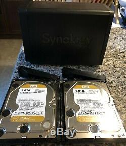 Synology DiskStation DS716+II 3.5 2x 1 TB NAS 2TB Storage Free Ship