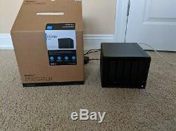 Synology DiskStation DS918+ 4-bay 4 GB Diskless NAS 4x 3TB WD Red HDDs