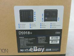 Synology Disk Station DS918+ 4-Bay Diskless NAS Server SATA 6Gb/s Diskstation