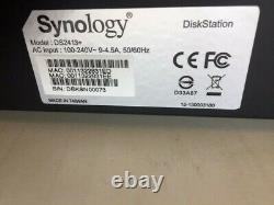 Synology Diskstation DS2413 Network Attached Storage (Diskless) FOR REPAIR PARTS