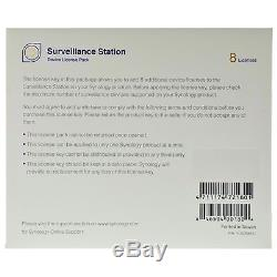 Synology IP Camera 8-License Pack Kit for Surveillance Station All-Bays NAS