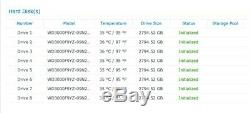 Synology RackStation RS2414RP+ 3.5 Bay 2U NAS with 8 x 3TB (24TB) w 4GB Memory