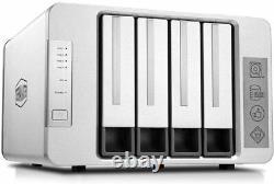 TerraMaster F4-210 4-bay NAS 2GB RAM Media Server Personal Cloud Storage