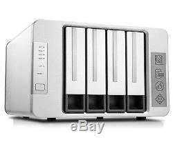 TerraMaster F4-220 NAS RAID Server 4-Bay Intel 2.41GHz Processor Diskless