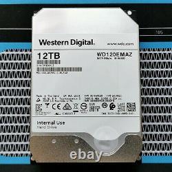 WD 12 TB SATA HDD 256MB Cache - Garantie / Warranty - Western Digital NAS SAN